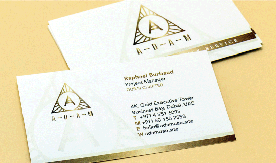 Conqueror Business Cards - Banner