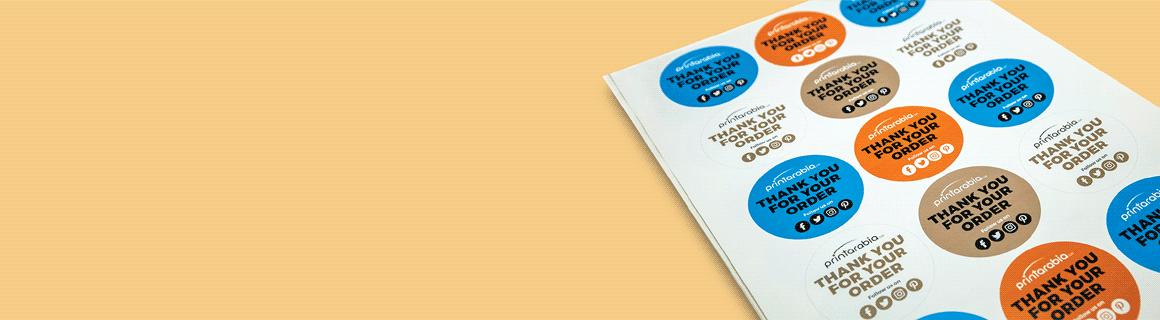 Kiss Cut Sticker Sheets - Banner