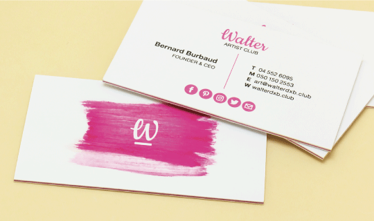 Triplex Business Cards - Banner