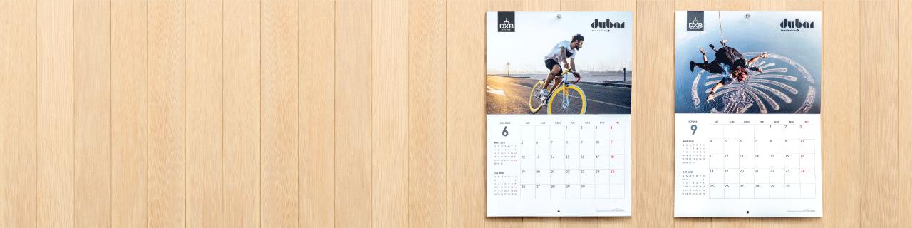 Booklet Calendars - Banner
