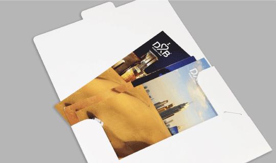 A6 Ready Shape 1-Pocket Folders - Banner