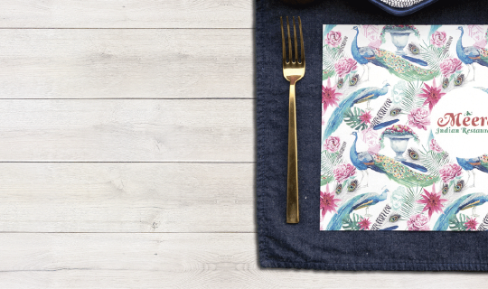 Cheap Placemat Printing - Banner
