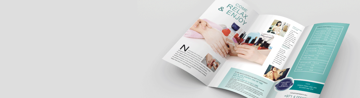 Trifold Pamphlets - Banner