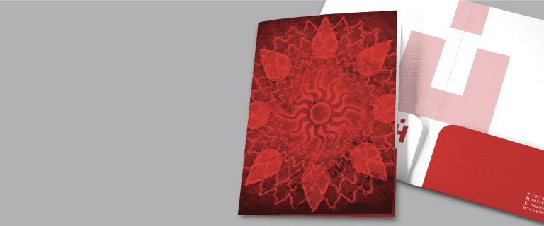 A4 Ready Shape 2-Pocket Folders - Banner