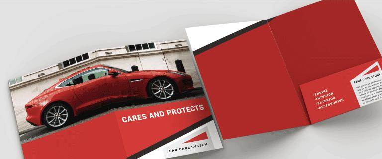 Custom Shape Folders - Banner