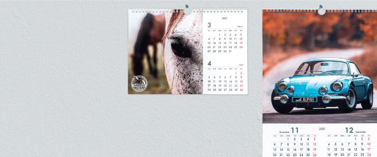 Wall Calendars - Banner