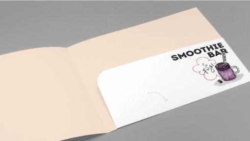 A5 Ready Shape 1-Pocket Folders 1 Image