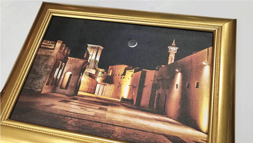 <div>Classic Framed Canvas</div>