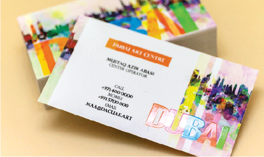 Spot UV Business Cards 1 Image