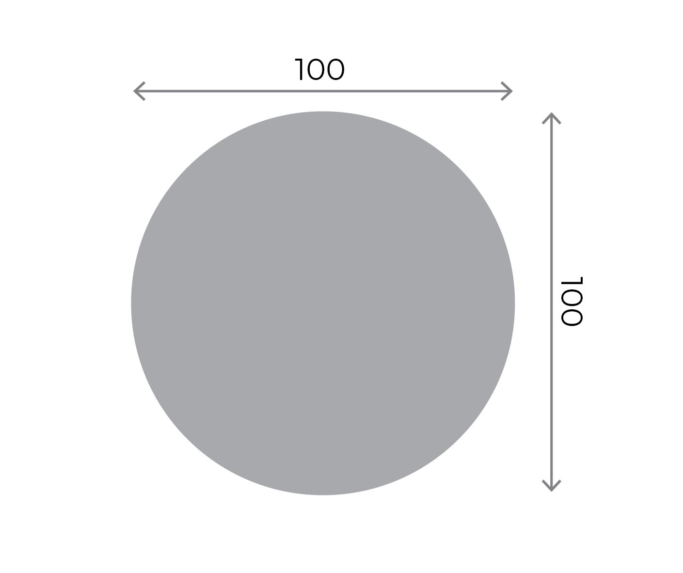 Round Stickers - 100x100mm Round 100x100mm 01 Image