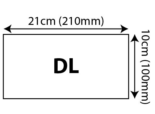 Express Letterheads - DL (Compliment Slip) 100x210mm 01 Image
