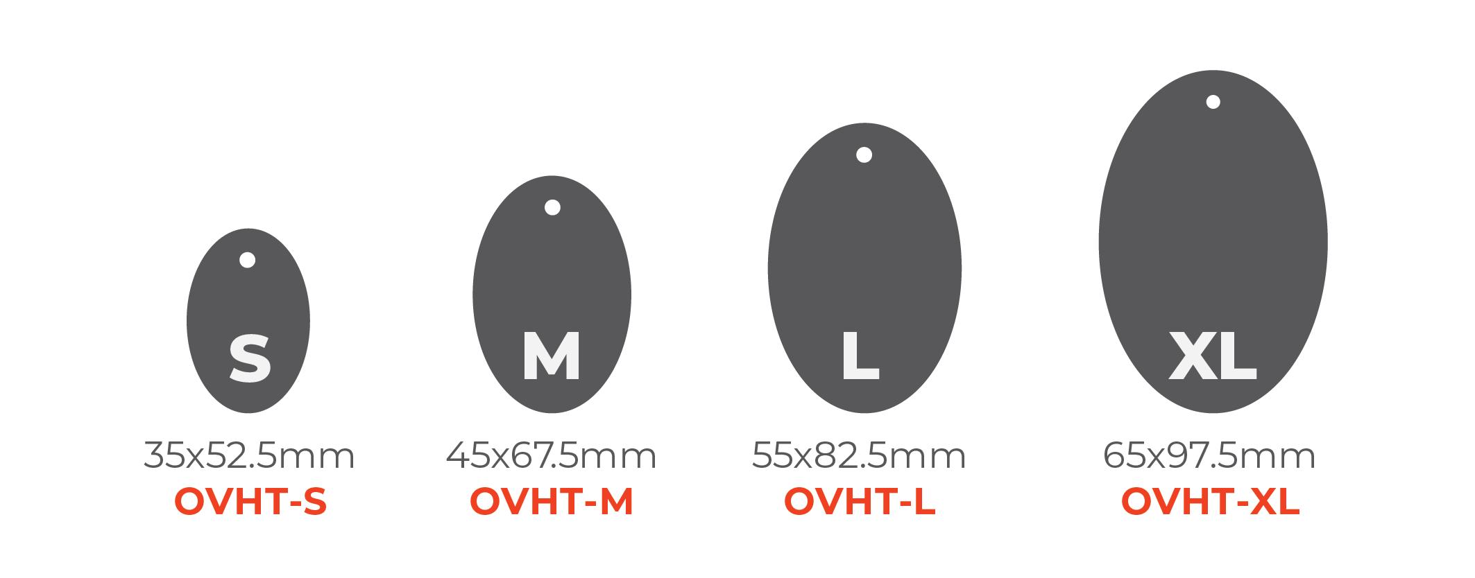 Standard Hang Tags - Oval Tags 0x0mm 01 Image