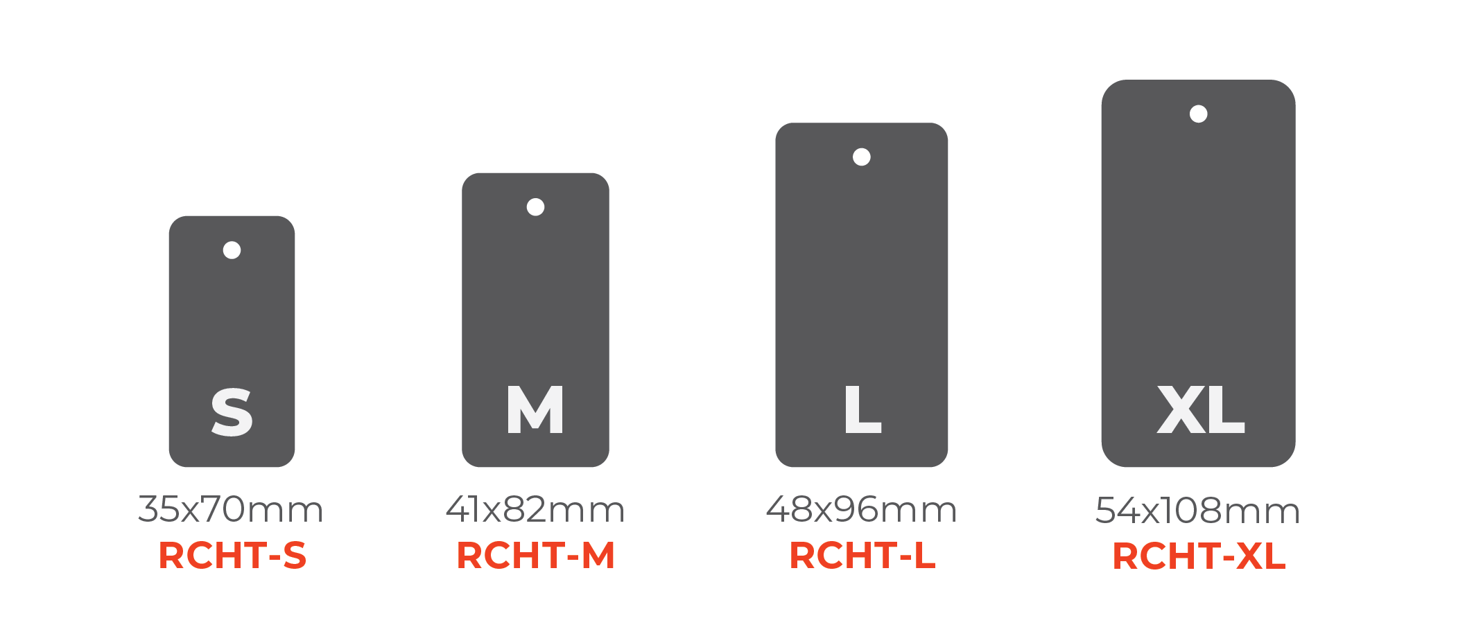 Standard Hang Tags - Round Corner Tags 0x0mm 01 Image