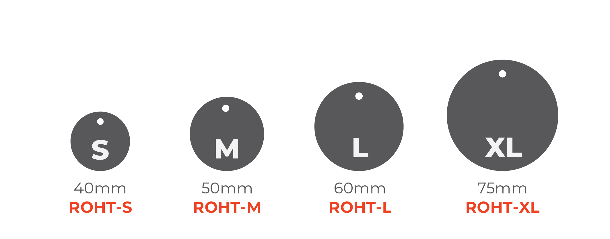 Standard Hang Tags - Round Tags 0x0mm 01 Image