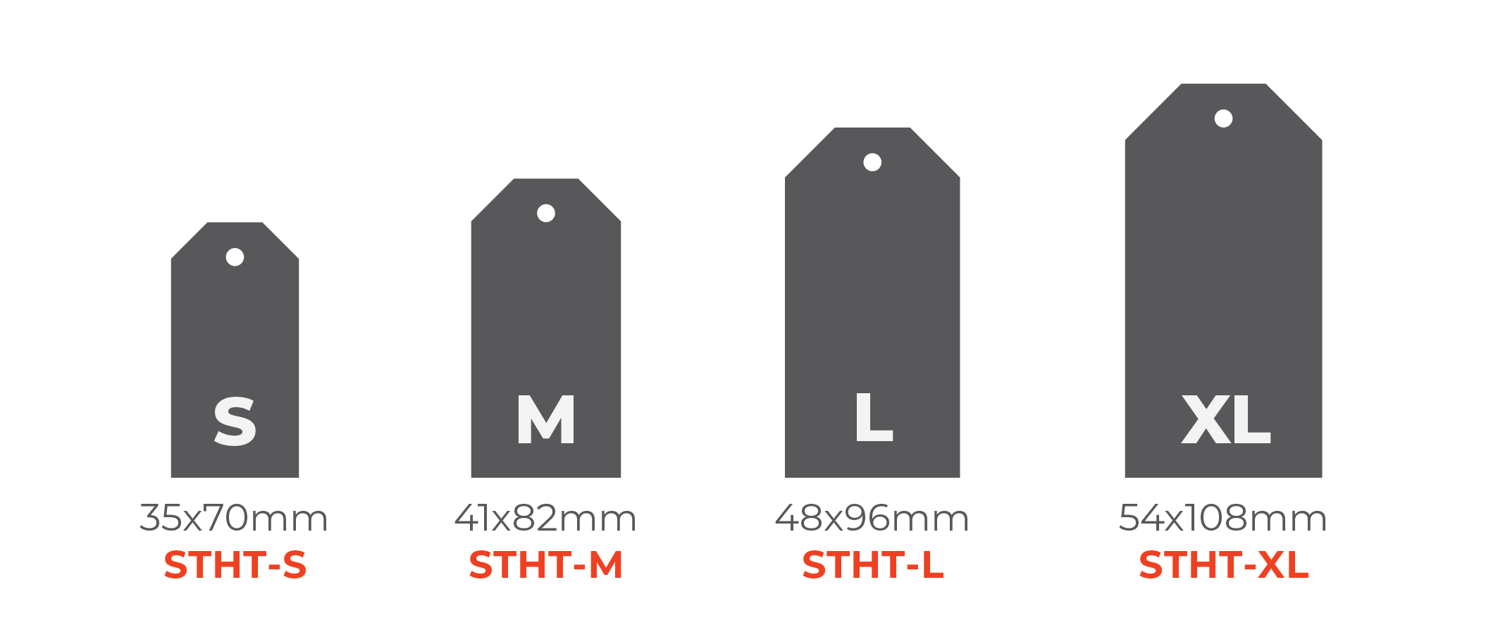 Double Pasted Hang Tags - Standard Tags 0x0mm 01 Image