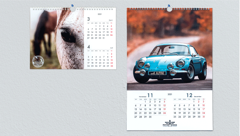 Wall Calendars - Zoom 1 Image