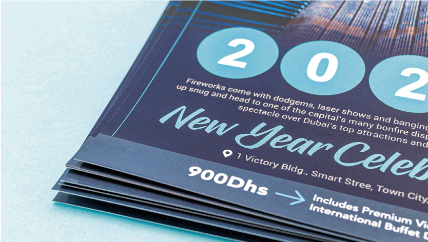 Gloss Laminated Flyers - Zoom 1 Image