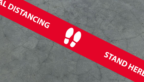 Social Distance Floor Bar Order - Carousel Controll 04 Image